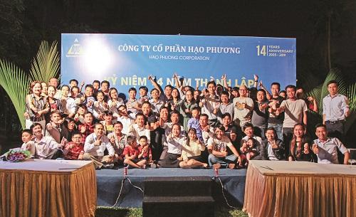 Kỷ niệm 14 năm thành lập công ty Hạo Phương
