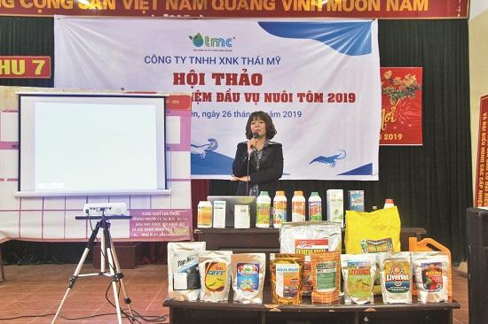 Công ty Thái Mỹ: Bộ sản phẩm chuyên dùng cho ao bạt tại thị trường miền Bắc, miền Trung